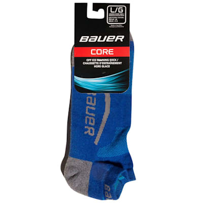 (Bauer Core Ankle Cut Hockey Socks - 2017 - Adult)