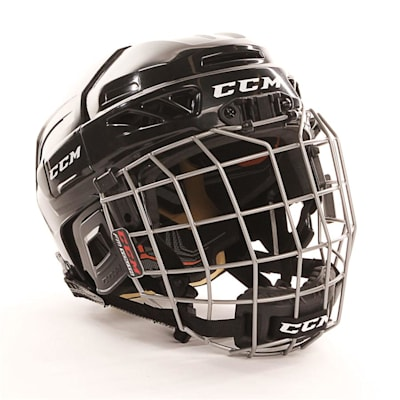 Black (CCM Fitlite 3DS Youth Hockey Helmet Combo - Youth)