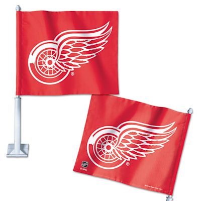 Car Fla DET (Wincraft Hockey Car Flag - Detroit Red Wings)