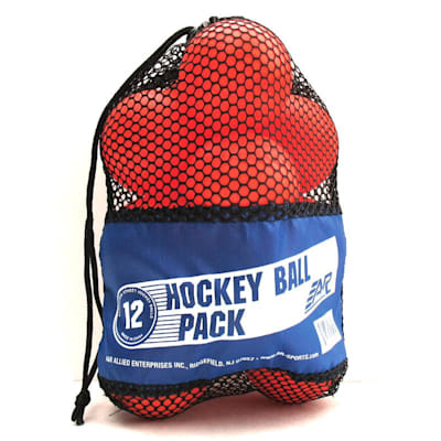 A&R Inline Hockey Balls (A&R Inline Hockey Balls - 12 Pack)