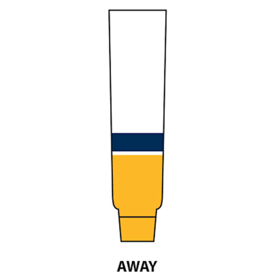 Away (NHL Team Hockey Socks - Nashville Predators - Intermediate)