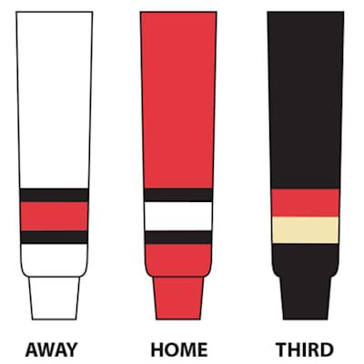 (NHL Team Hockey Socks - Ottawa Senators - Intermediate)