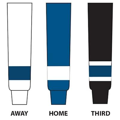 (NHL Team Hockey Socks - Tampa Bay Lightning - Intermediate)