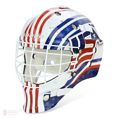 USA (Bauer NME USA/Canada Street Hockey Goalie Mask - Youth)