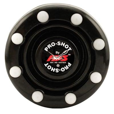 Black (IDS Pro Shot Inline Hockey Puck)