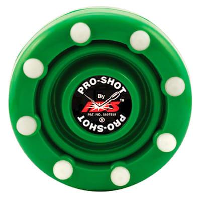 Green (IDS Pro Shot Inline Hockey Puck)