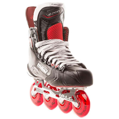 Toe View (Bauer Vapor XR800 Inline Hockey Skates - 2017 Model - Senior)