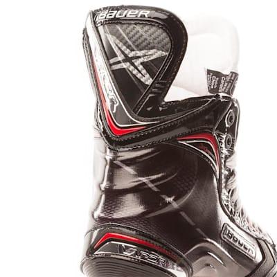 Heel View (Bauer Vapor XR800 Inline Hockey Skates - 2017 Model - Senior)