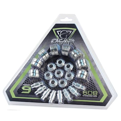 (Gear ABEC-9 Inline Hockey Bearing 16 Pack)