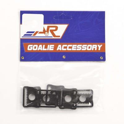 GOALIE HELMET CLIP 5 PACK (A&R Hockey Goalie Helmet Clips - 5 Pack)