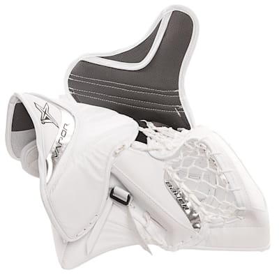 Vapor 1X Goal Glove (Bauer Vapor 1X Goalie Catch Glove - Senior)