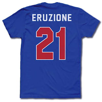 ERUZIONE 1980 MIRACLE AWAY JERSEY (Streaker Sports 1980 Mike Eruzione Miracle USA Hockey Jersey Tee - Mens)