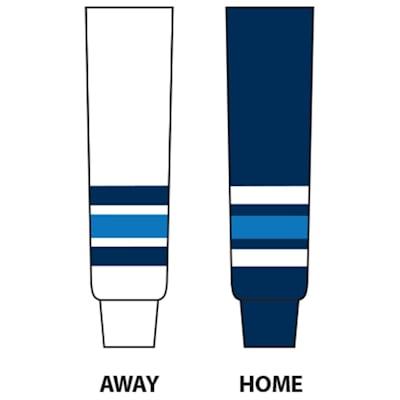 (College Hockey Sock - UMaine - Junior)