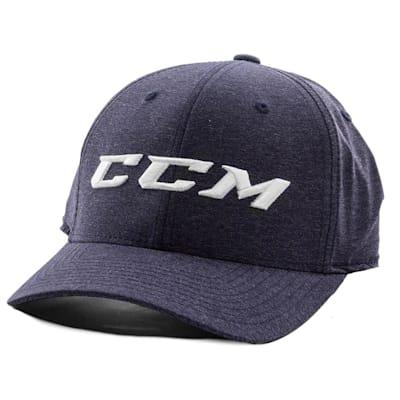 Navy/White (CCM Flex Fit Exclusive Cap - Adult)