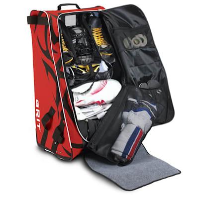 Open w/ Equipment (Grit HTFX Hockey Tower Bag - Senior)