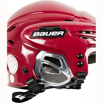 Ergonomic Translucent Ear Covers (Bauer 5100 Hockey Helmet)
