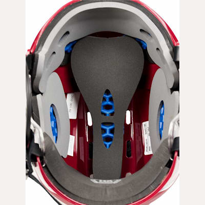 Triple-Density Liner With HX-SORB Padding (Bauer 5100 Hockey Helmet)