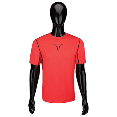 Front (Bauer Core Short Sleeve Hybrid Top - Youth)