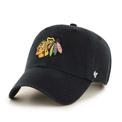 Front (47 Brand Blackhawks Clean Up Cap)