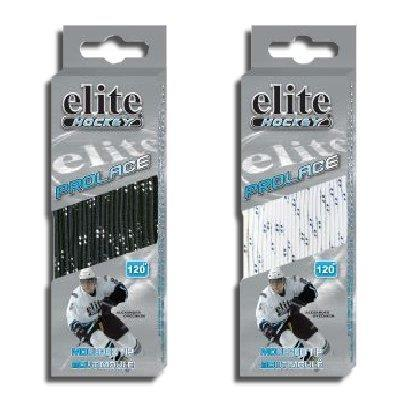 Non-waxed (Elite Hockey Prolace Molded Tip Skate Laces)