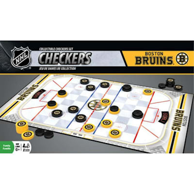 (MasterPieces NHL Checkers Boston Bruins)