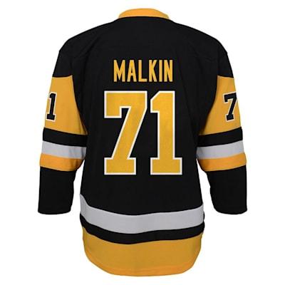 Back (Adidas Pittsburgh Penguins Malkin Jersey - Youth)