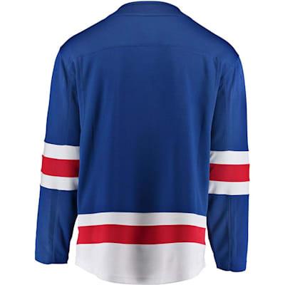 Home Back (Fanatics New York Rangers Replica Jersey - Adult)