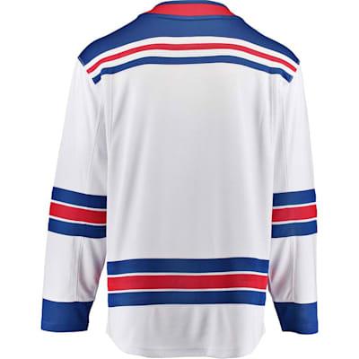 Away Back (Fanatics New York Rangers Replica Jersey - Adult)