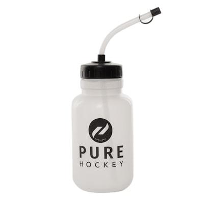 (Pure Hockey Straw Water Bottle)