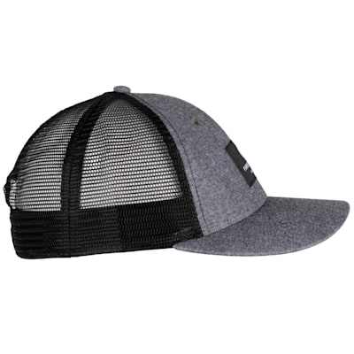 (Pure Hockey Chambray Grey Mesh Back Hat - Adult)