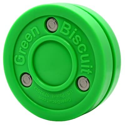 (Green Biscuit Stick Handling Training Puck - 5oz)