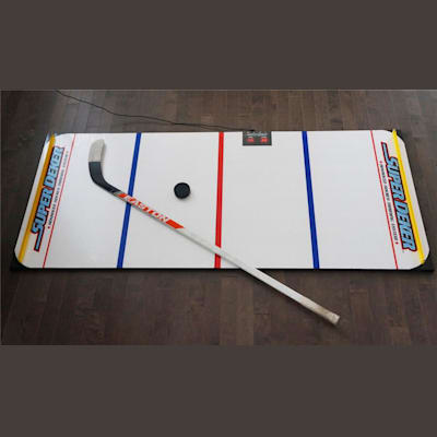 Stick not included (SuperDeker Advanced Hockey Training System)