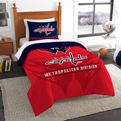 "Capitals (Northwest Company NHL ""Draft"" Twin Comforter & Sham)"