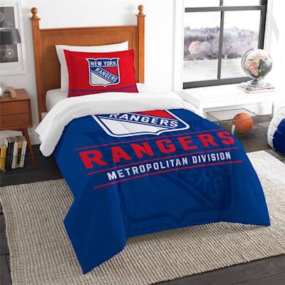 "Rangers (Northwest Company NHL ""Draft"" Twin Comforter & Sham)"