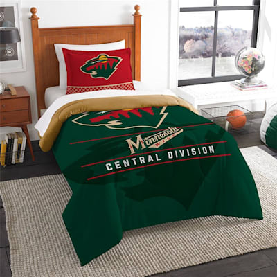 "Wild (Northwest Company NHL ""Draft"" Twin Comforter & Sham)"