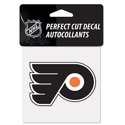 "NHL 4 x 4 Color Decal - PHI (Wincraft NHL Perfect Cut Color Decal - 4"" x 4"" - Philadelphia Flyers)"