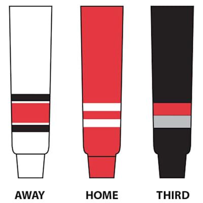 (NHL Team Hockey Socks - Carolina Hurricanes - Intermediate)