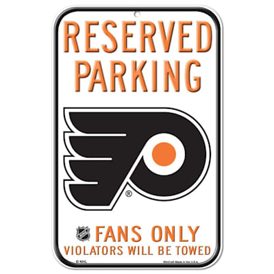(Wincraft NHL Reserved Parking Sign - Philadelphia Flyers)