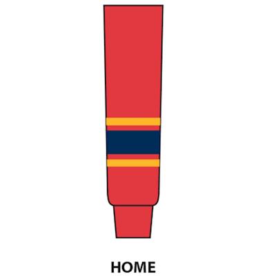 Red (NHL Team Hockey Socks - Florida Panthers - Junior)