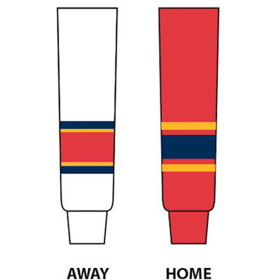 (NHL Team Hockey Socks - Florida Panthers - Senior)