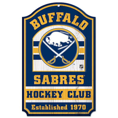 "(Wincraft NHL Wood Sign - 11""  x 17"" - Buffalo Sabres)"