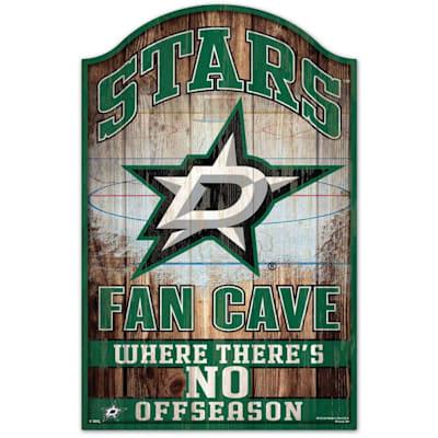 """(Wincraft NHL Wood Sign - 11"""" x 17"""" - Dallas Stars)"""