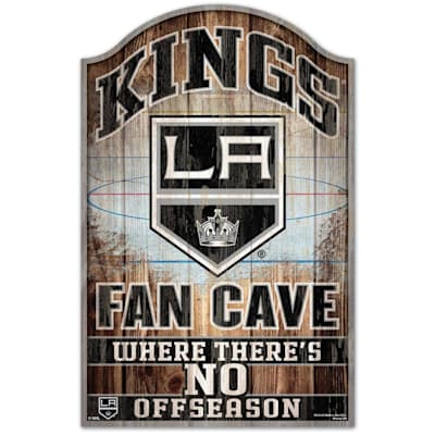 """(Wincraft NHL Wood Sign - 11"""" x 17"""" - Los Angeles Kings)"""