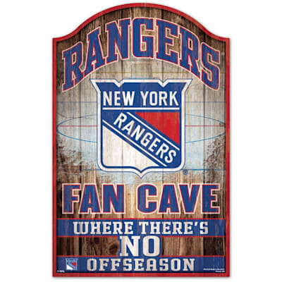 "(Wincraft NHL Wood Sign - 11"" x 17"" - New York Rangers)"