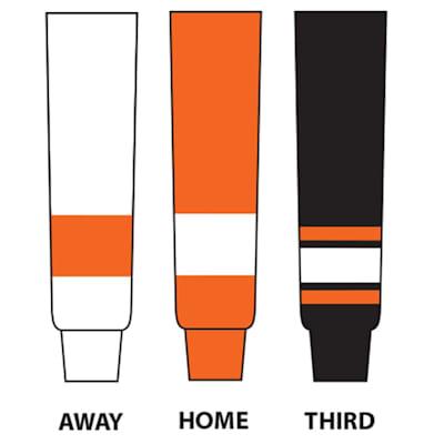 (NHL Team Hockey Socks - Philadelphia Flyers - Intermediate)