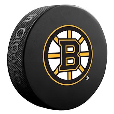 (InGlasco NHL Basic Logo Puck - Boston Bruins)