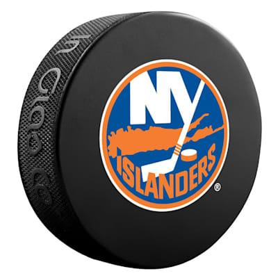 (InGlasco NHL Basic Logo Puck - New York Islanders)