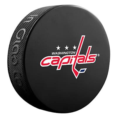 (InGlasco NHL Basic Logo Puck - Washington Capitals)