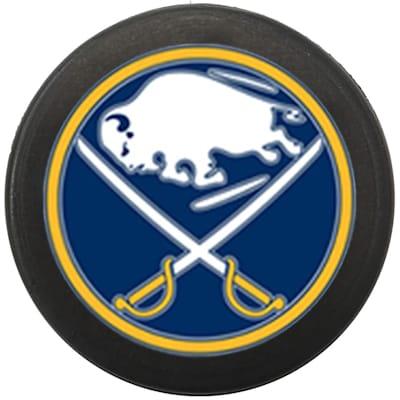 Single Charm (InGlasco NHL Mini Puck Charms - Buffalo Sabres)