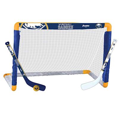NHL Team Mini Goal Set - BUF (Franklin NHL Team Mini Hockey Goal Set - Buffalo Sabres)